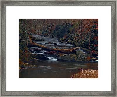 Little Falls Framed Print