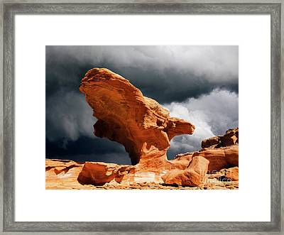 Little Finland Nevada 8 Framed Print by Bob Christopher