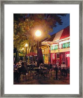 Little Five Points, Atlanta Framed Print by Robyn Siani