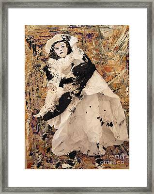 Little Girl Framed Print