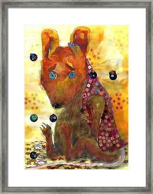 Little Gnaw Skank 12 - Home Framed Print by Geckojoy Gecko Books