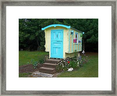 Little Gypsy Wagon II Framed Print