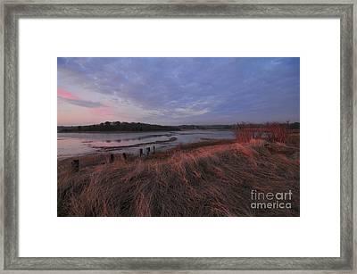 Little Harbor Framed Print