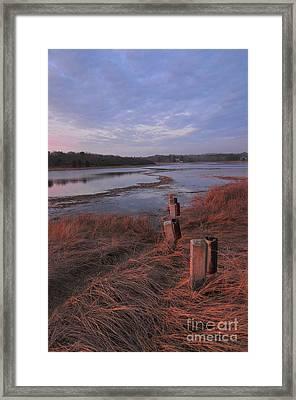 Little Harbor 3 Framed Print