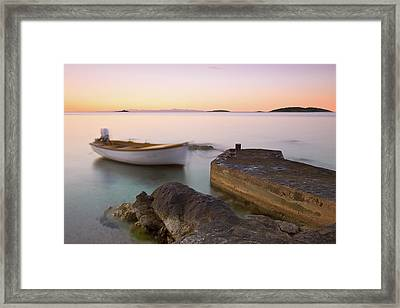 Framed Print featuring the photograph Little Haven by Davor Zerjav