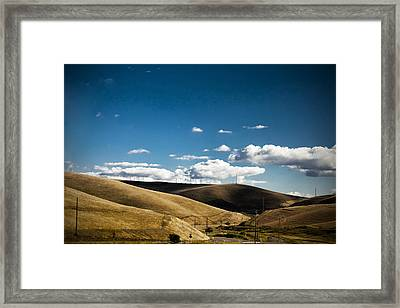 Little Hills Framed Print by Subhadip Ghosh