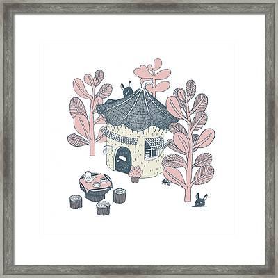 Little Home Framed Print by Bew Wanchai
