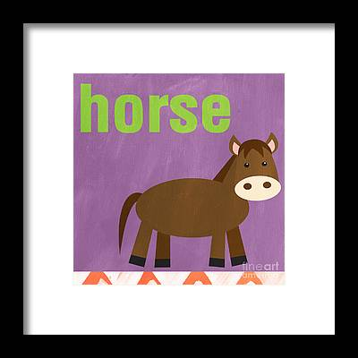 Baby Horse Framed Prints