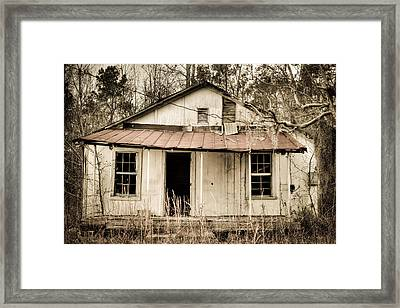 Little House From Yesteryear #2 Framed Print by Andrew Crispi