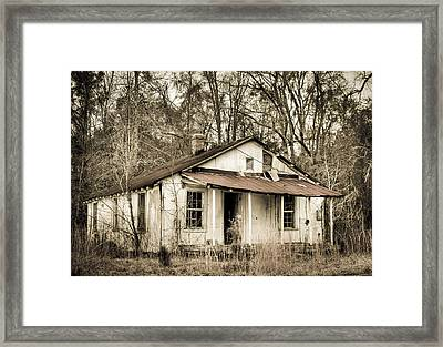 Little House From Yesteryear Framed Print by Andrew Crispi