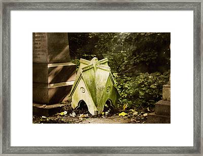Framed Print featuring the photograph Little House In The Woods by Helga Novelli