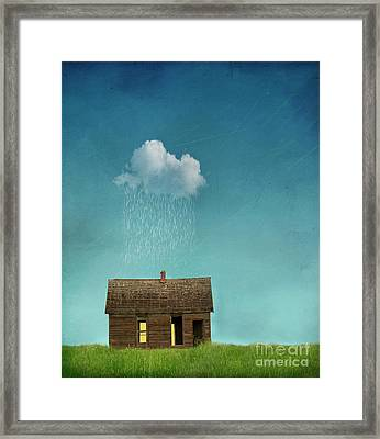 Framed Print featuring the photograph Little House Of Sorrow by Juli Scalzi