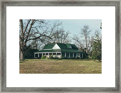 Little House On The Prairie Framed Print