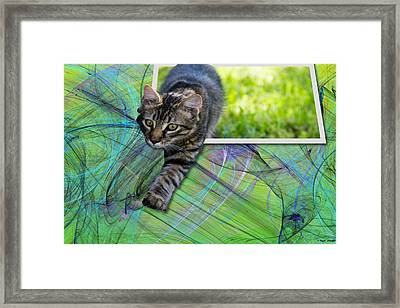 Little Hunter Framed Print