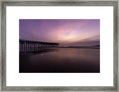 Little Island Sunrise Framed Print