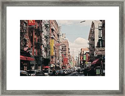 Little Italy Framed Print by Benjamin Matthijs