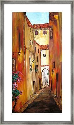 Little Italy Framed Print