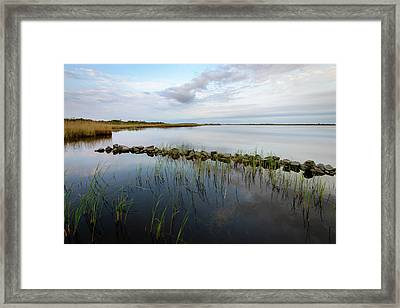 Little Jetty Framed Print