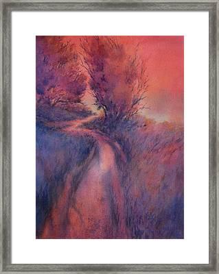 Little Joshua Creek No 2 Framed Print by Virgil Carter