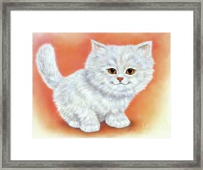 Little Kitten 2 Framed Print