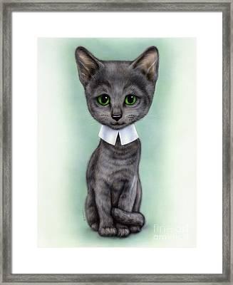 Little Kitten 5 Framed Print