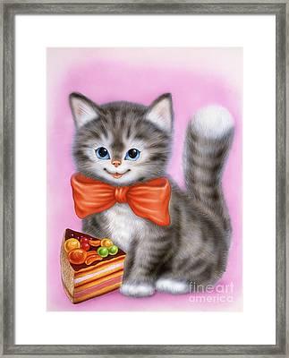 Little Kitten 6 Framed Print