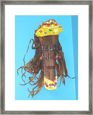 Little Lady From Haiti Framed Print