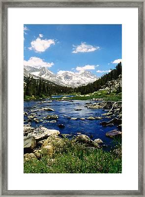 Little Lake Framed Print