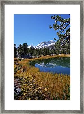 Little Lakes Valley 2 Framed Print