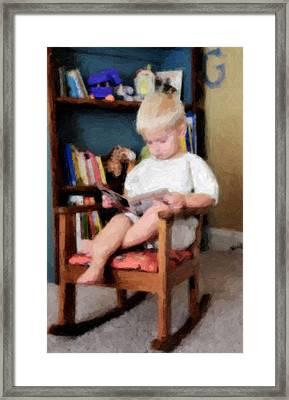 Little Learner Framed Print by Lyle  Huisken
