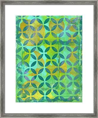Little Lemon Tree Framed Print by Lisa Noneman