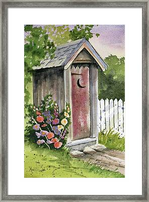 Little Loo Loo Framed Print