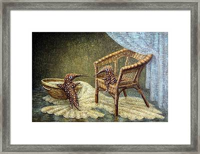 Little Love Story Framed Print by Lolita Bronzini