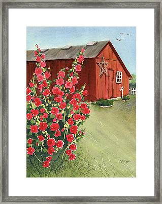 Little Maders Farm Framed Print