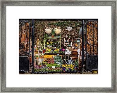 Little Market Framed Print