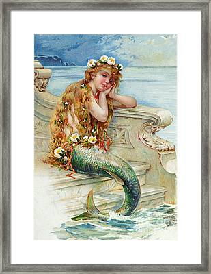 Little Mermaid Framed Print by E S Hardy