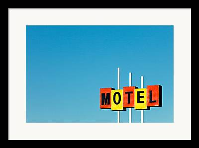 Motel Framed Prints