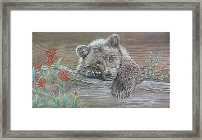 Little One Framed Print