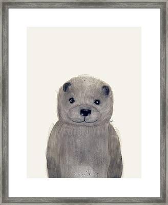 Little Otter Framed Print