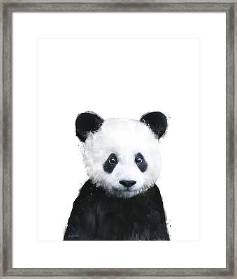 Little Panda Framed Print
