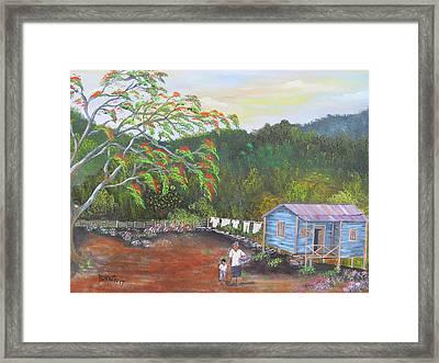 Little Paradise Framed Print