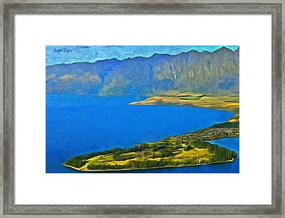 Little Paradise - Pa Framed Print by Leonardo Digenio