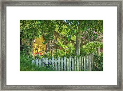 Little Picket Fence Framed Print