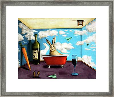 Little Rabbit Spirits Framed Print