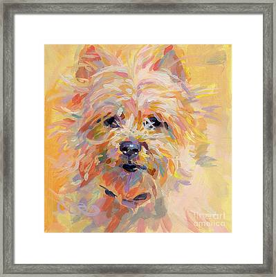 Little Ray Of Sunshine Framed Print by Kimberly Santini