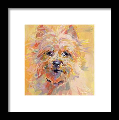 Cairn Terrier Framed Prints