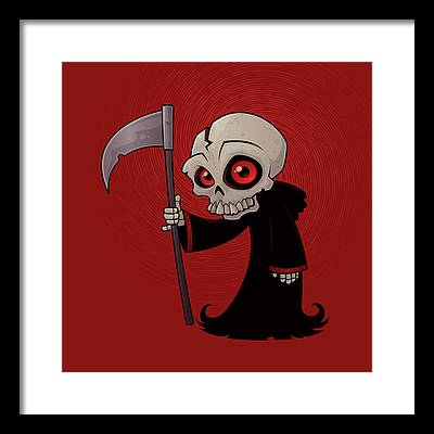 Skeleton Framed Prints