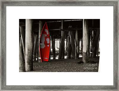 Little Red Boat IIi Framed Print