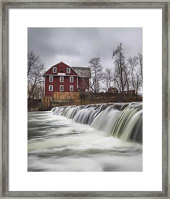 Little Red Mill Framed Print