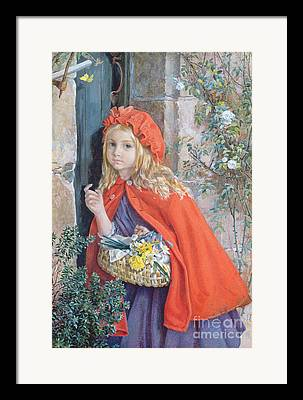 Folktale Paintings Framed Prints